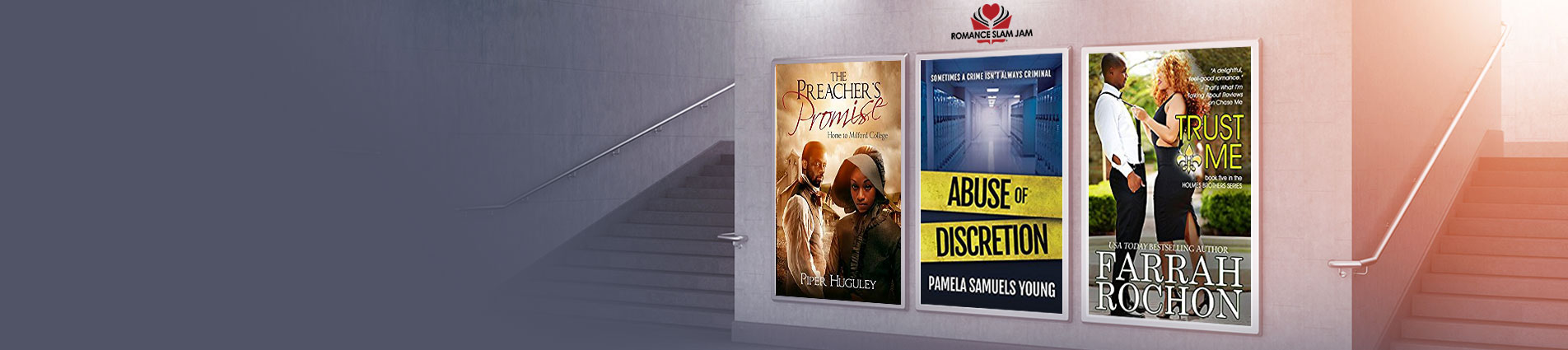 African American Authors: RSJ Book Lover Events and Promotions