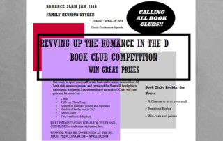 book lover event + join the pep rally party