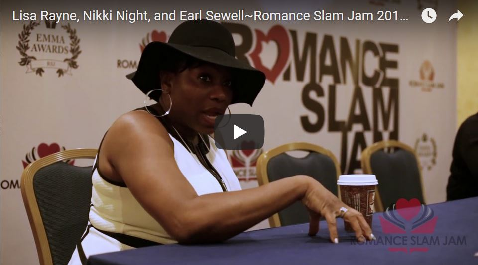 Promo Video: Romance authors Lisa Rayne, Nicki Night and Earl Sewell discuss the African American Book Section