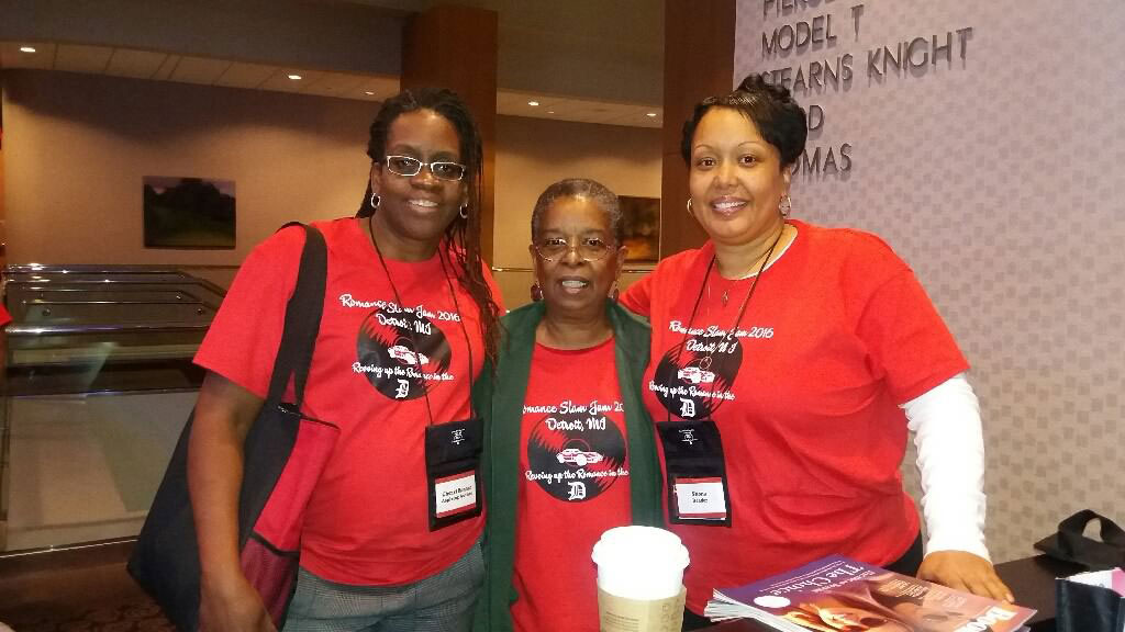 Romance Slam Jam Conference featured host - author Beverly Jenkins