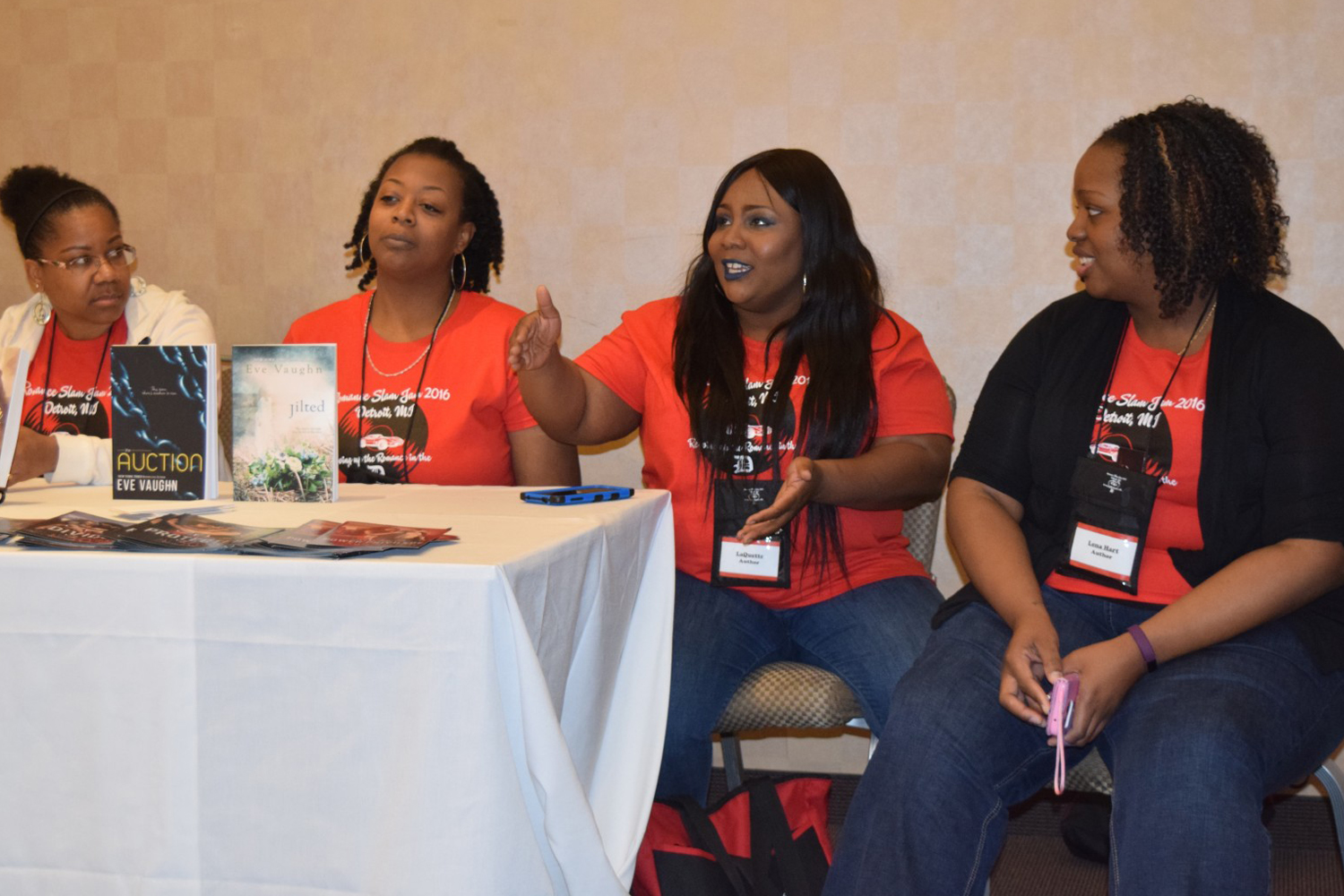 Black Author panel discussion