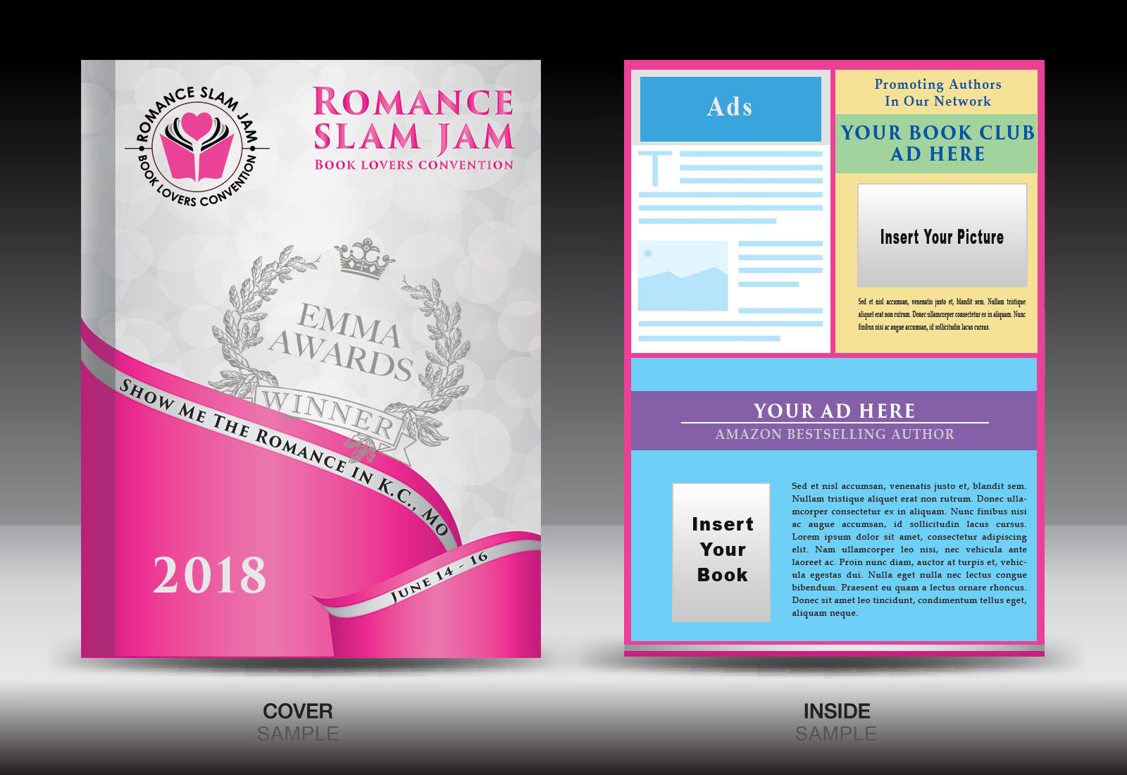 Romance Books - Diversity in Literature Souvenir Booklet / Black Authors Encouraged