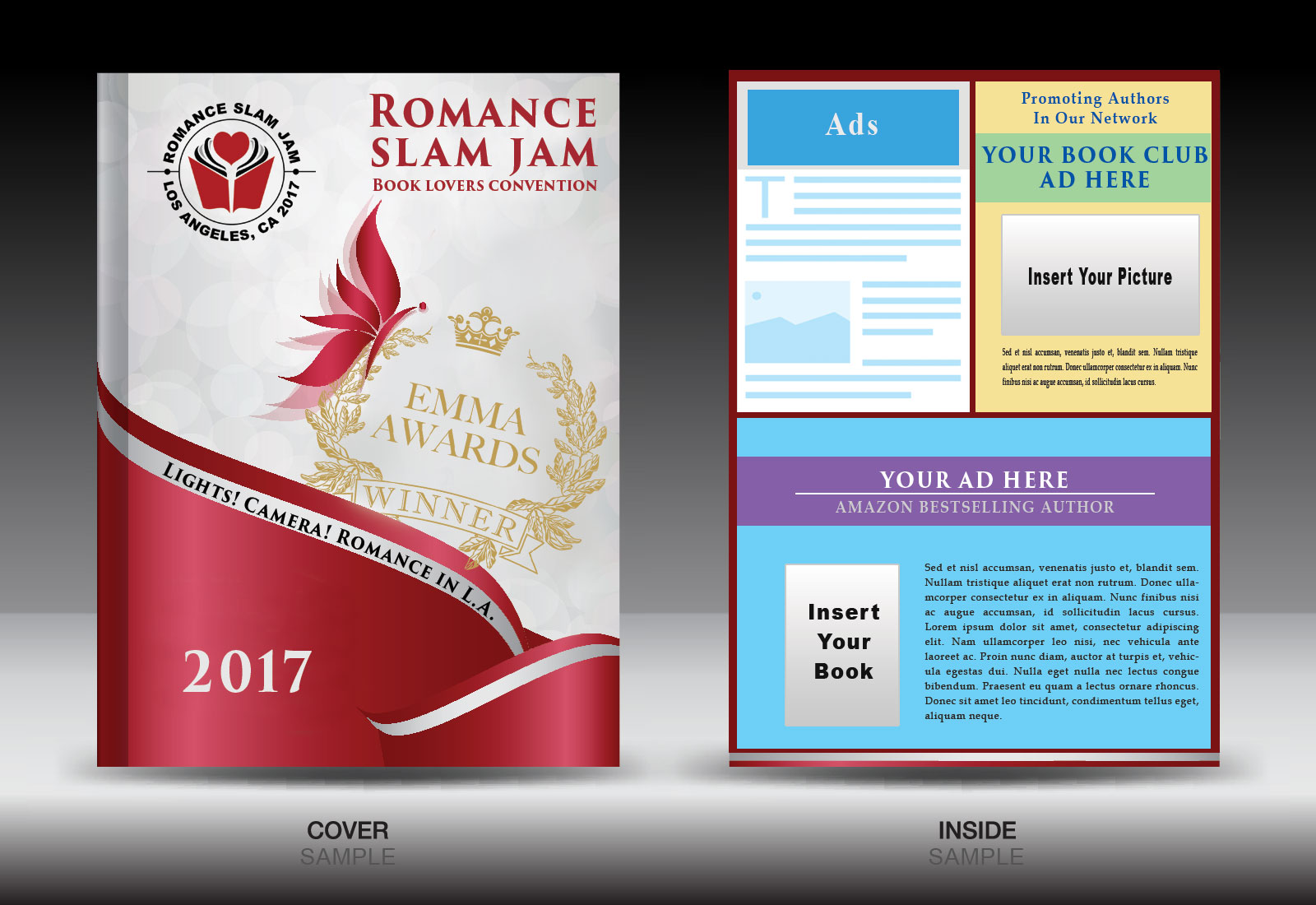 Romance Books - Black Authors Souvenir Booklet